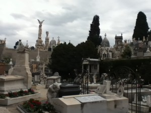 The Catholic cemetery at Castle Hill is not Pere Lachaise but impressive in its own right.