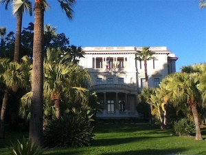 The Musee Massena is formerly the home of the last aristocrats in Nice.