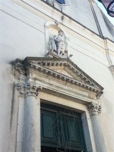 Just your small parish church in a relatively obscure neighborhood of Venice.