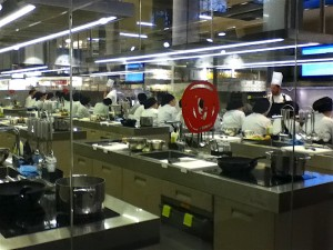 The Central Market food court is so big, it even has its own culinary school.