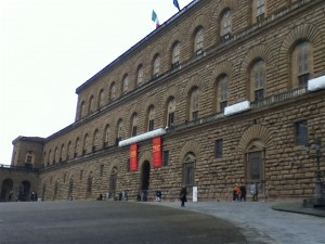 The Pitti Palace--keeping up with the Medicics.