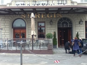 Home of the grappa-based St. Regis Bloody Mary.