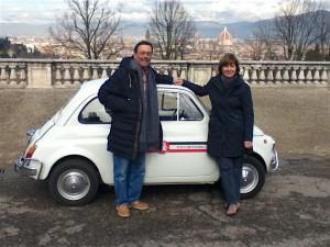 Fiat 500 couple 2