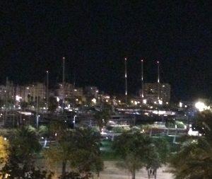 barcelona-marina-at-night
